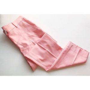 Theory • NWT Sienna Pink Shell Wool Trousers